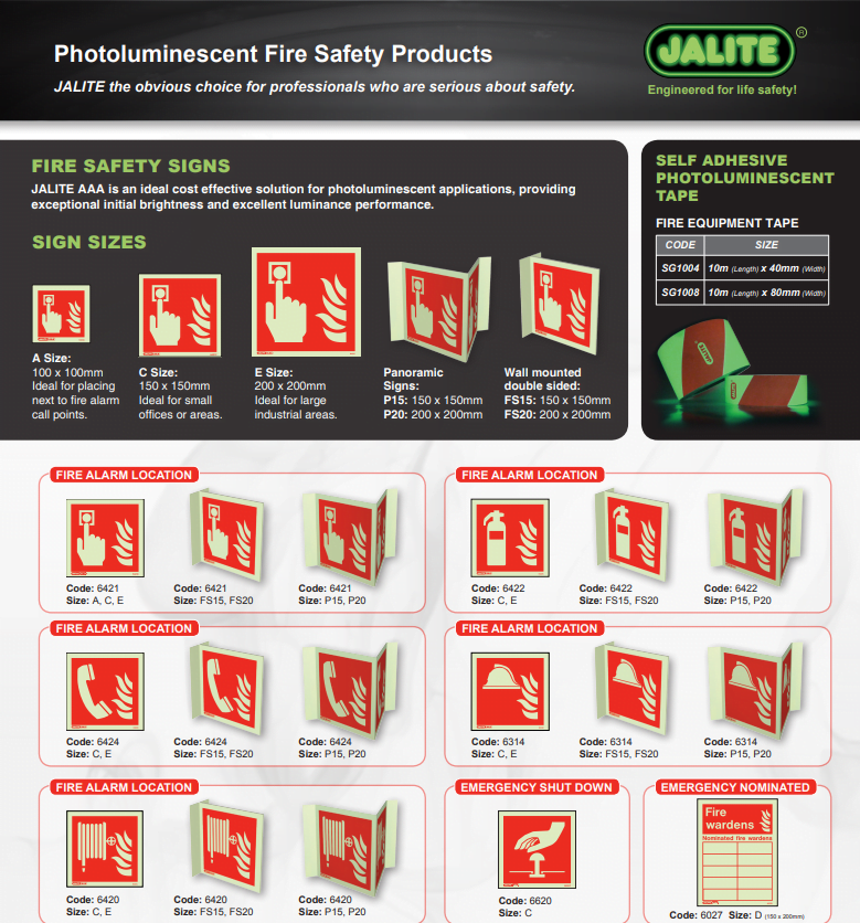Oxfordshire Fire Protection Services Fire safety Signage